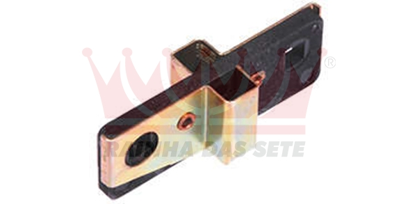 PORTA ESCOVAS ALTERNADOR BOSCH 12 VOLTS FORD CORCEL / F100 / F400 / MAVERICK CHRYSLER DODGE POLARA MBB CAMINÕES CLARK CLARK TRATORES MASSEY FERGUSON TRATORES VALMET TRATORES CATERPILLAR TRATORES SEM ESCOVAS 419-001