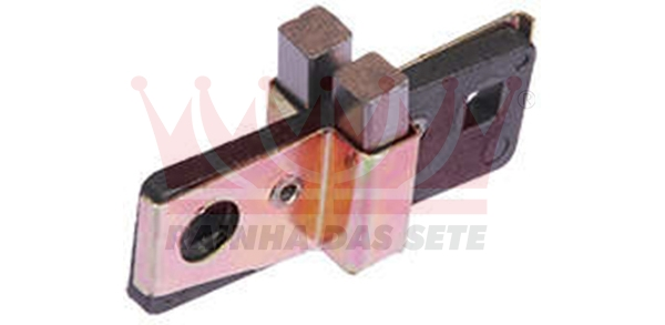 PORTA ESCOVAS ALTERNADOR BOSCH 12 VOLTS FORD CORCEL / F100 / F400 / MAVERICK CHRYSLER DODGE POLARA MBB CAMINÕES CLARK CLARK TRATORES MASSEY FERGUSON TRATORES VALMET TRATORES CATERPILLAR TRATORES 2 ESCOVAS 419-001